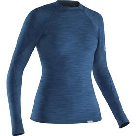 NRS HydroSkin 0.5 Longsleeve Shirt Dames, moroccan blue